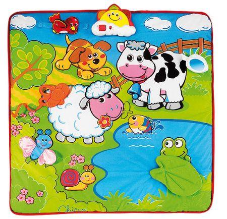 Chicco Játszószőnyeg éneklő-zenélő állatokkal