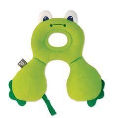 BenBat nákrčník s opierkou hlavy 0-12m -žaba