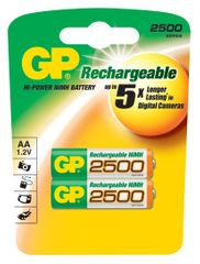 GP polnilna baterija ReCyko+ 2500 HR6 (AA), 2 kosa