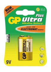 GP 9V Ultra Plus, alkalická - 1 ks