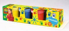 SES prstne barve, 4 x 150 ml
