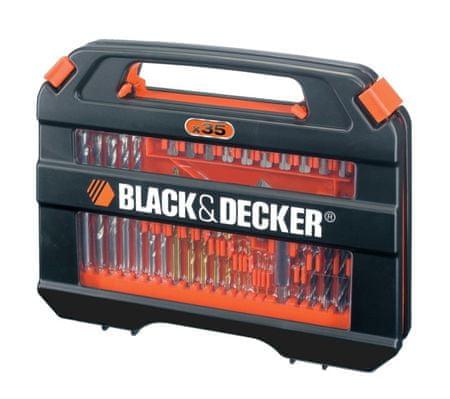 Black+Decker garnitura svrdla A7152, 35 komada