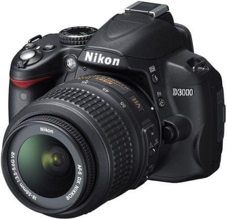 Nikon D3000 + 18-55 AF-S DX VR