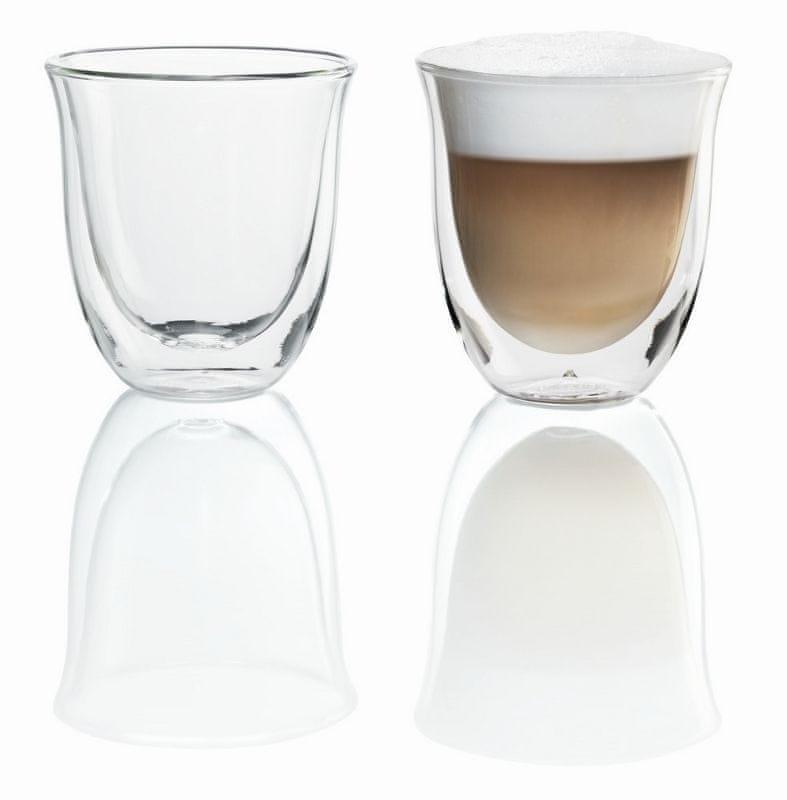 De'Longhi Skleničky na cappuccino set 2 ks