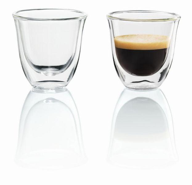 De'Longhi 2 Espresso skleničky