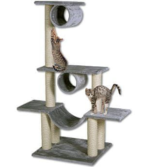 Magic cat Miejsce zabaw i odpoczynku dla kota Iveta - szare