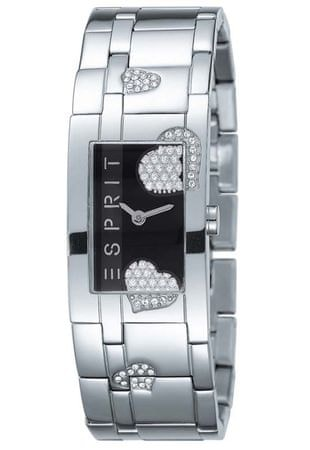 Esprit Glam Heart Black Houston ES102312001 - Paraméterek  e2c11da4535