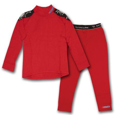 Sensor Thermo EVO Gyerek aláöltözet szett, Piros, 130