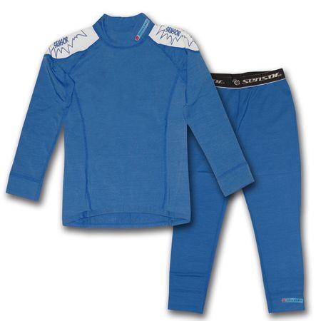 Sensor Thermo EVO Gyerek aláöltözet szett, Kék