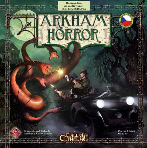 ADC Blackfire Arkham Horror - česká verze