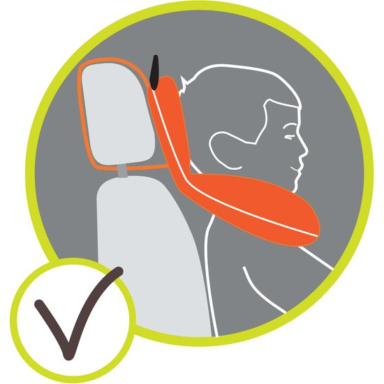 BenBat Nákrčník s opěrkou hlavy 1-4 roky - Víla