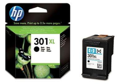 HP náplň č.301XL - Černá (CH563EE)