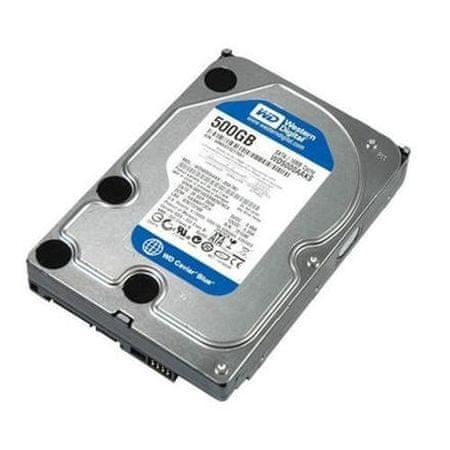WD 500GB, 16MB, SATA III, 7200rp (WD5000AAKX)