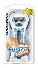 Gillette Fusion Cool White maszynka + 1 głowica
