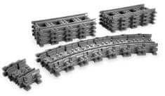 LEGO® CITY Prilagodljive tračnice
