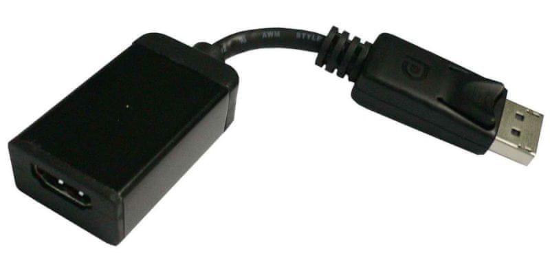 PremiumCord adaptér DisplayPort - HDMI M/F, 15cm
