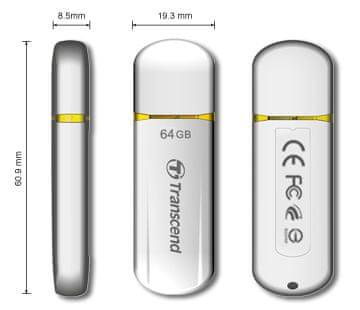 Transcend USB ključek JetFlash 620, 64GB, USB 2.0