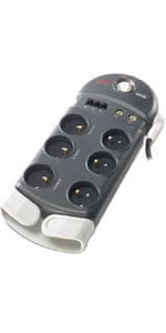 APC SurgeArrest PH6VT3-FR, 6z, telefon, TV