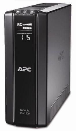 APC Back-UPS Pro 1200VA Power saving (720W), české zásuvky