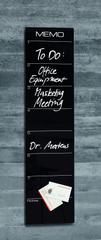 Sigel Skleněná magnetická tabule Artverum Memo 20 cm x 80 cm