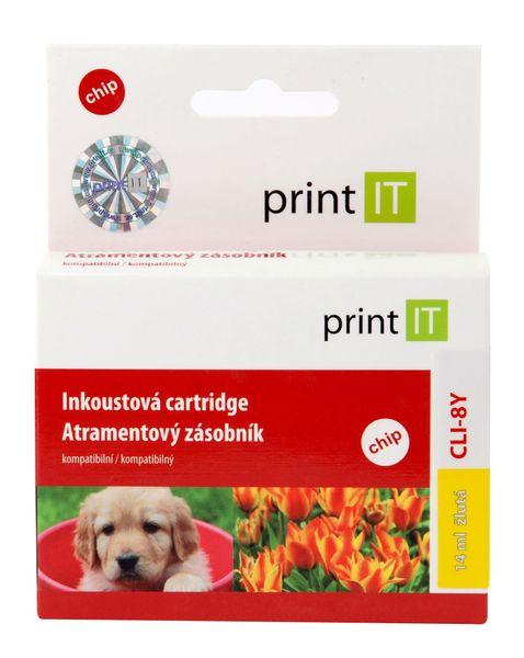 Print IT CLI-8y, žlutá