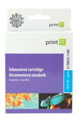 Print IT LC-980/LC 1100, azurová