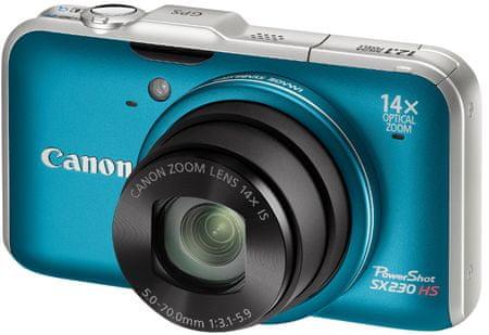 Canon PowerShot SX230 HS Blue