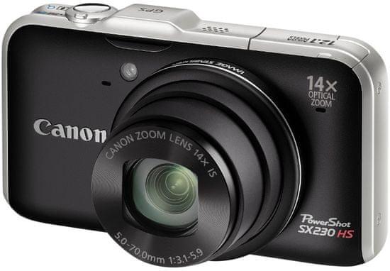 Canon PowerShot SX230 HS Black