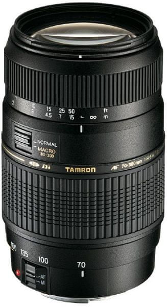 Tamron 70-300 mm AF f/4-5.6 Di LD Macro 1:2 SONY (5 let záruka)