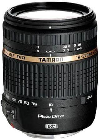 Tamron objektiv 18-270 PZD (Sony)