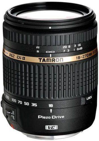 Tamron 18-270 mm AF f/3,5-6,3 Di-II VC PZD Nikon (5 let záruka) + 600 Kč a brašna od Tamronu zpět!