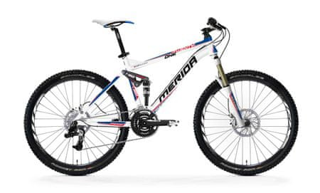 MERIDA One-Twenty 1200-D white/blue(red) 18""