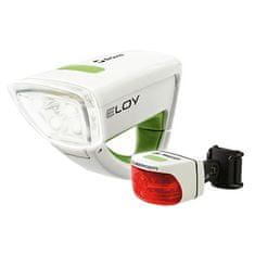 Sigma Svjetlo za bicikl Eloy + Cuberider Set