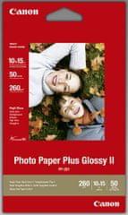 Canon Foto papir PP-201, 10 x 15 cm, 260g/m2, 50 listov