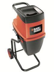 Black+Decker rozdrabniarka do gałęzi GS 2400