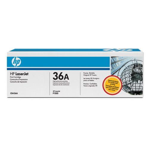 HP CB436A, černý
