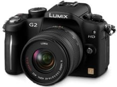 Panasonic Digitalni fotoaparat Lumix DMC-G2K, črn