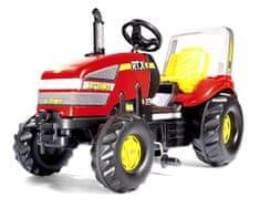 Rolly Toys rdeč traktor s pedali