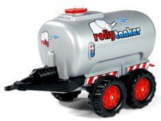 Rolly Toys tanker Rolly, srebrn