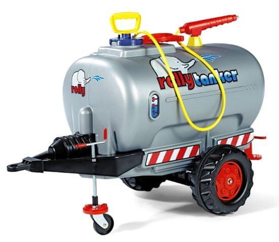 Rolly Toys Rolly tanker s pumpou a stříkačkou 1osý - stříbrný