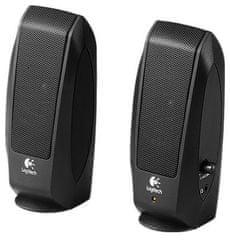 Logitech zvočniki s-120, črni