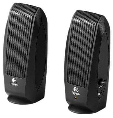 Logitech S-120 Black Speaker System - II. jakost