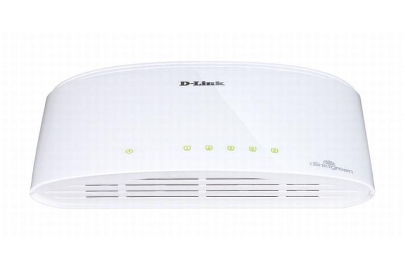 D-Link Switch 5-Port Gigabit Ethernet (DGS-1005D)