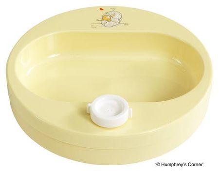 Bebe-jou Ohřívací talíř Humphrey - Žlutý