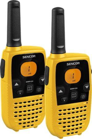 SENCOR SMR 120 TWIN - sada 2 vysielačiek