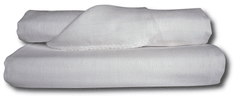 COSING Tetra osušky 90x100 cm - bílé - 2ks