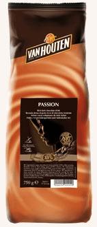 Van Houten Horká čokoláda Passion 750 g