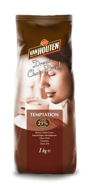 Van Houten Horká čokoláda Temptation 1kg