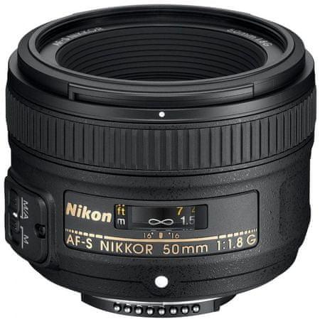 NIKON Nikkor AF-S 50mm f/1.8G Objektív