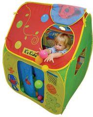 K´s Kids otroški šotor s plastičnimi kroglicami